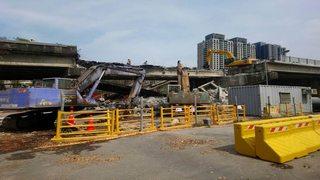 青海陸橋拆除進度超前 228續拆自立陸橋