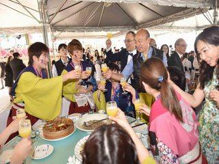 西子灣沙灘會館舉辦2019高雄國際午宴