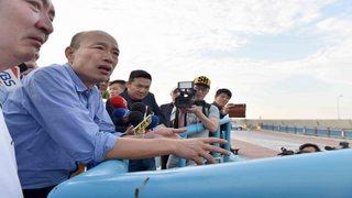 關心基層民意  韓國瑜夜宿、訪視彌陀漁村
