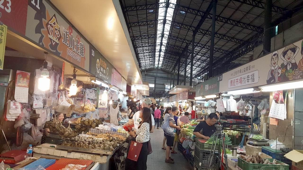 傳統市場找幸福 三和市場創建44年