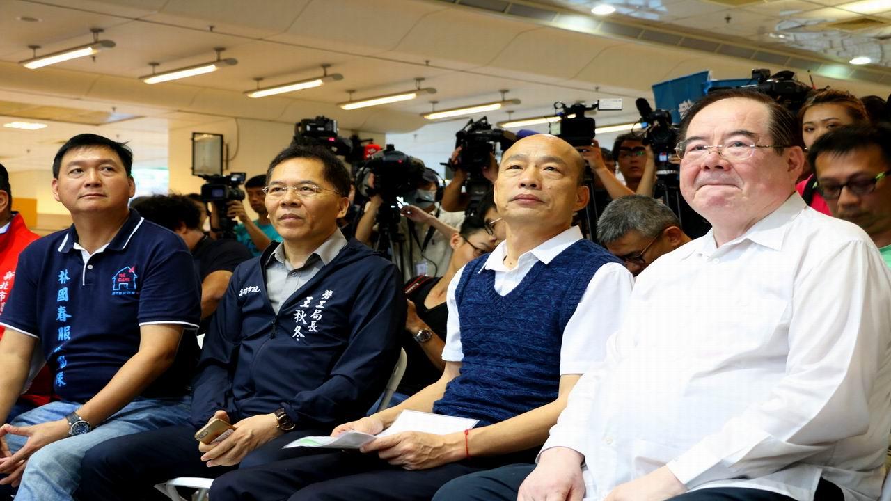 歡迎北漂子弟返鄉服務 韓國瑜親自北上徵才