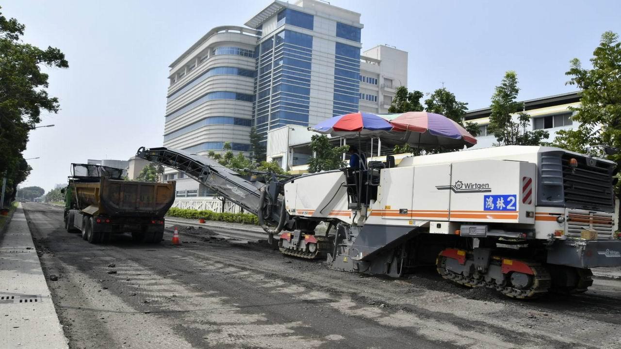 轉型台灣經濟起飛 前鎮區大華一路實施道路改善