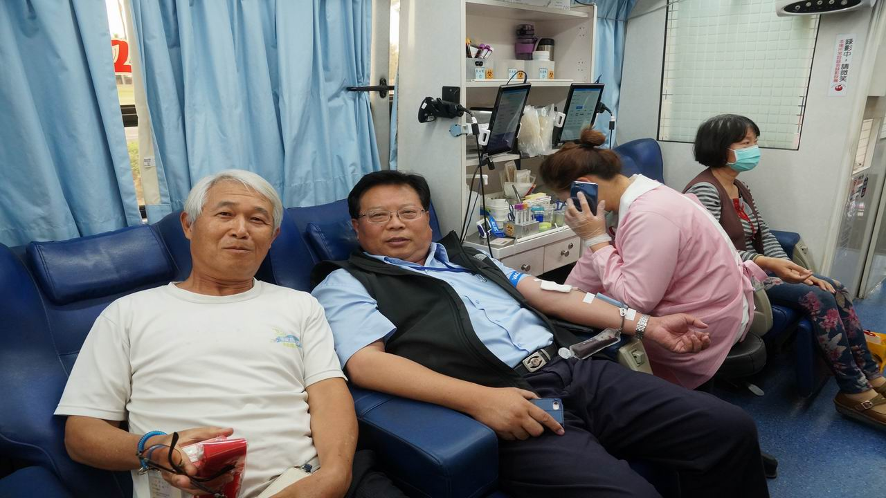 捐血一袋 救人一命 中油舉辦百萬CC公益捐血活動