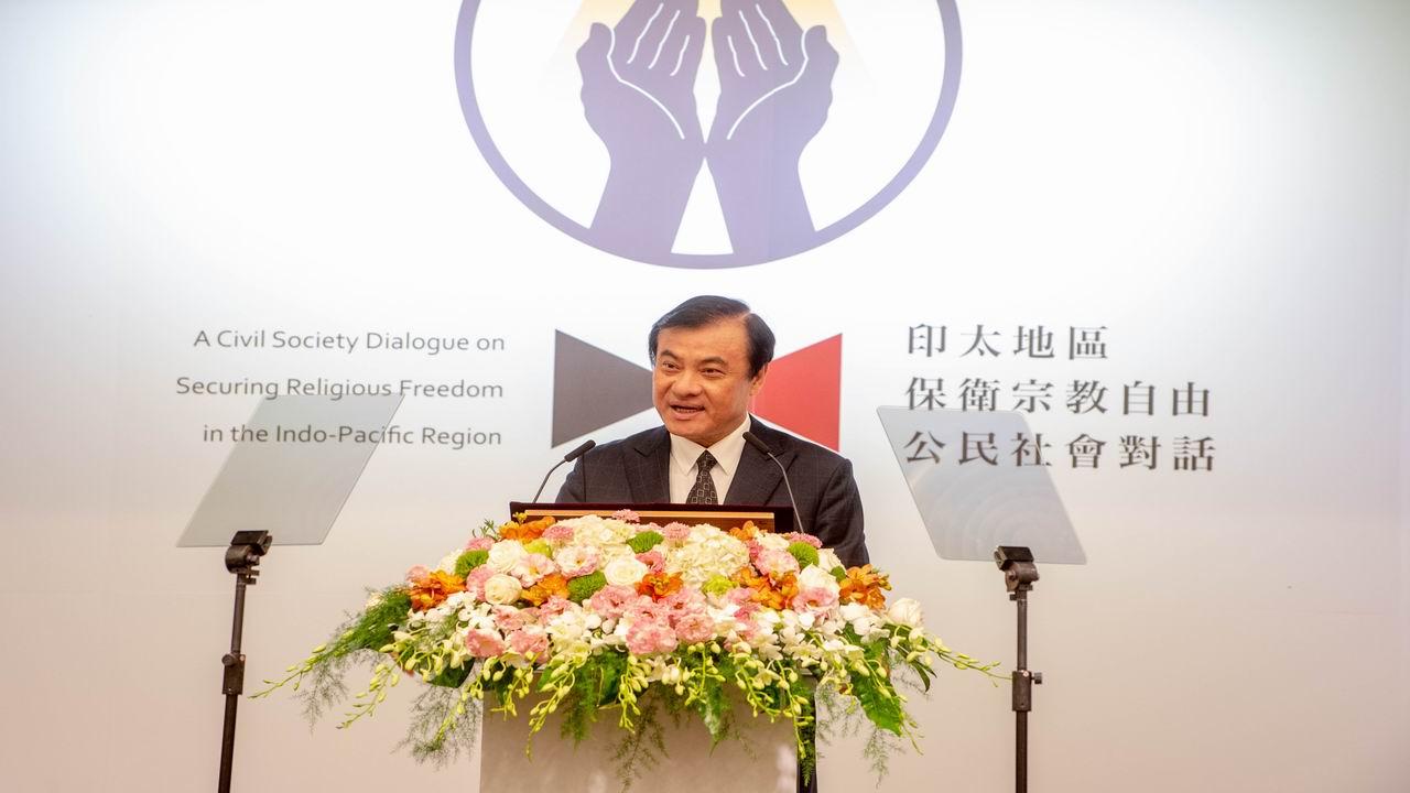 蘇嘉全:壓迫宗教 不會使國家更有力量