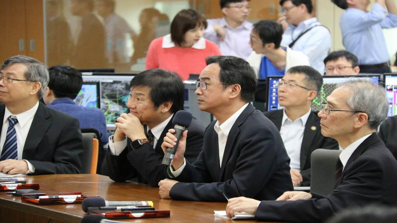 保障民眾生命財產安全 李昆澤考察國家災防監測情形