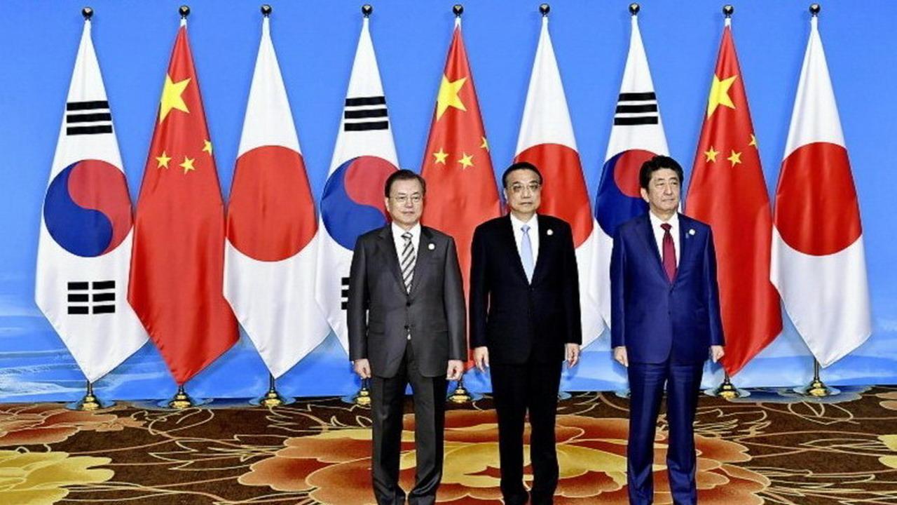 三國誌 中日韓於成都舉行高峰會