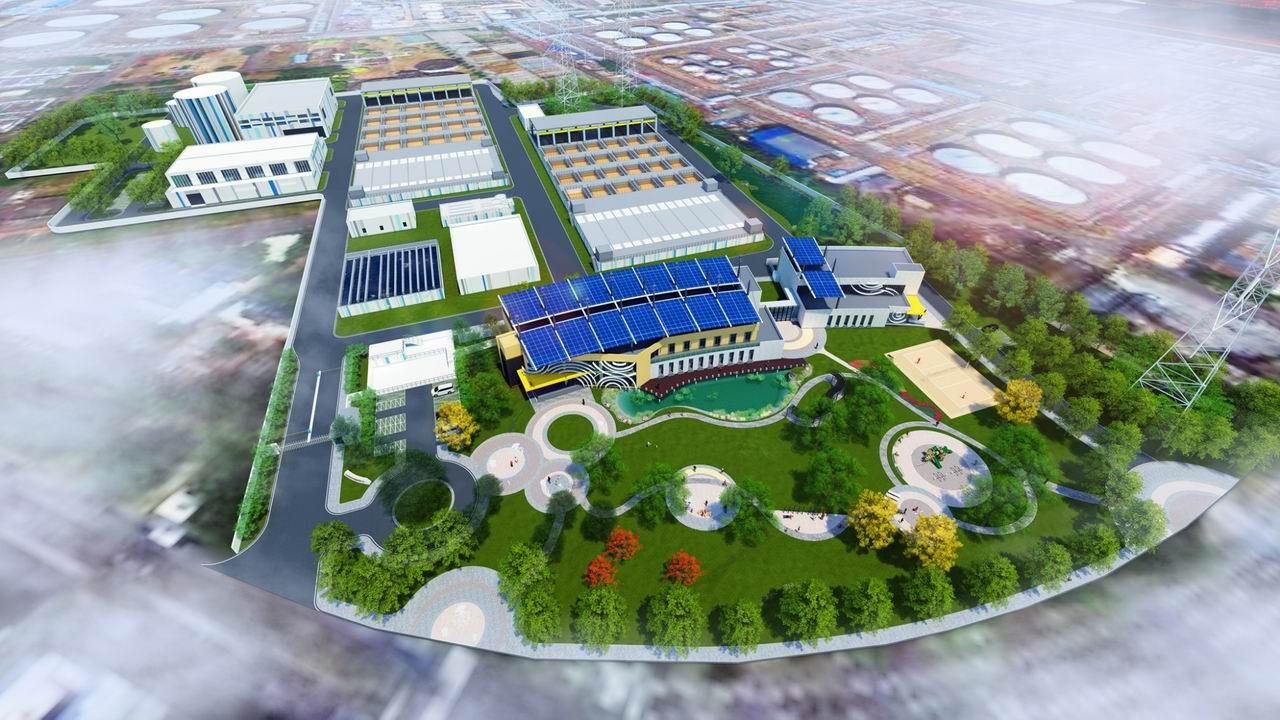 全國首座污水處理廠結合再生水廠正式開工