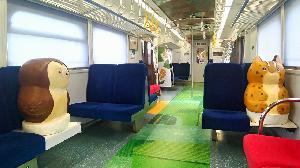 臺鐵局林務局攜手合作 推出里山動物列車2.0