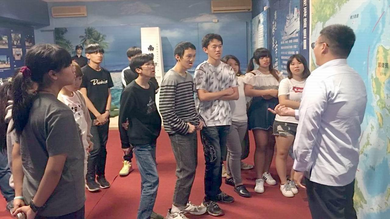 台東師生喜參訪 體驗海巡工作園