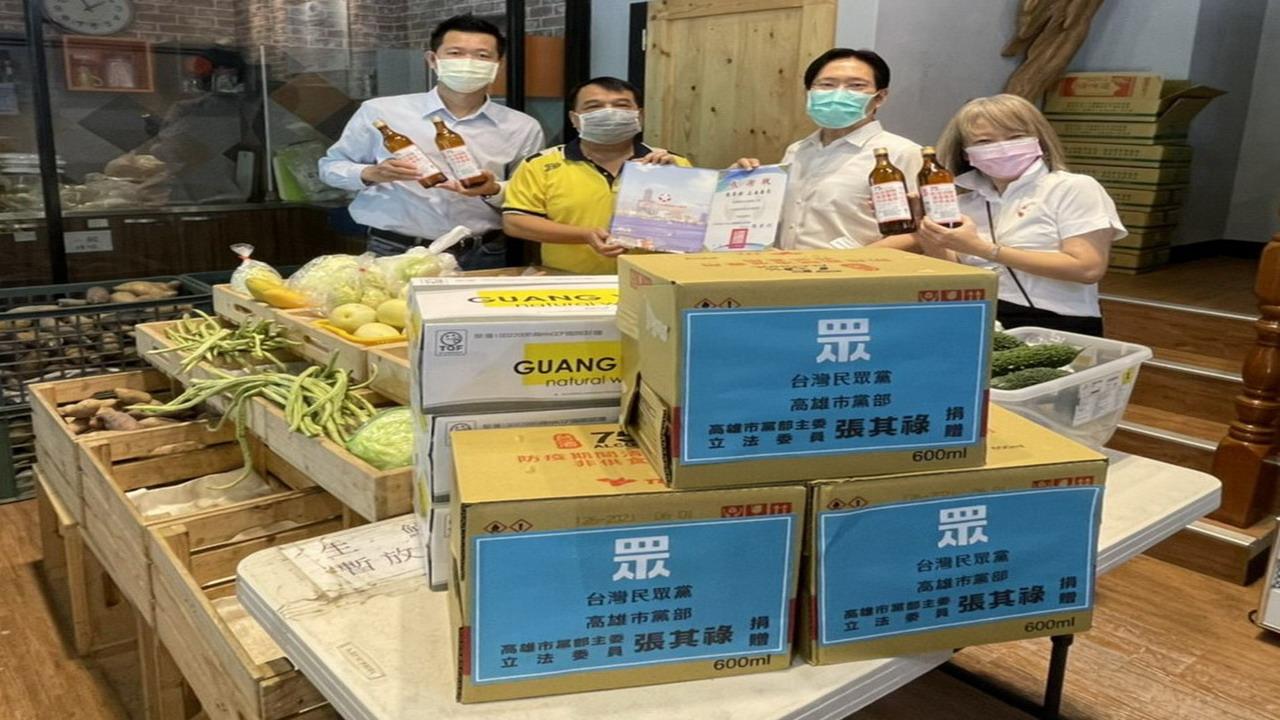 疫情衝擊弱勢及社福機構 張其祿捐贈防疫物資