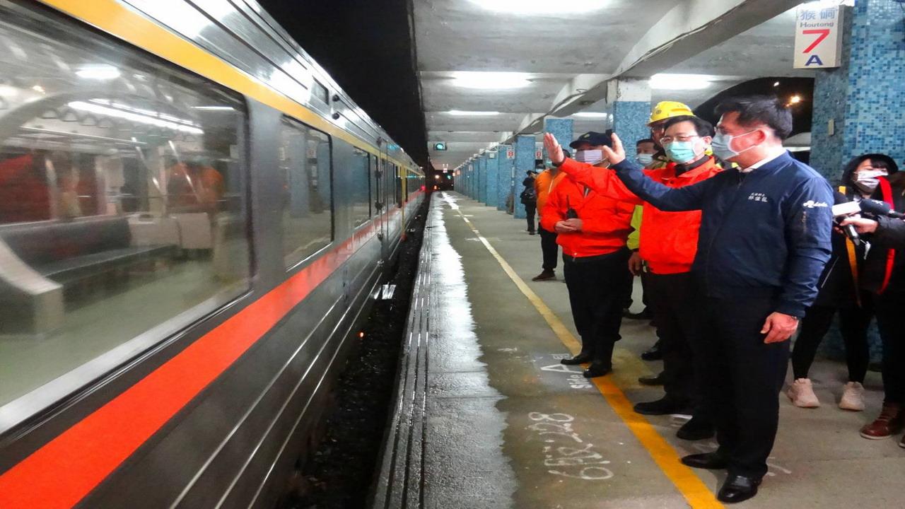 臺鐵總動員 瑞芳至猴硐間恢復單線雙向行車