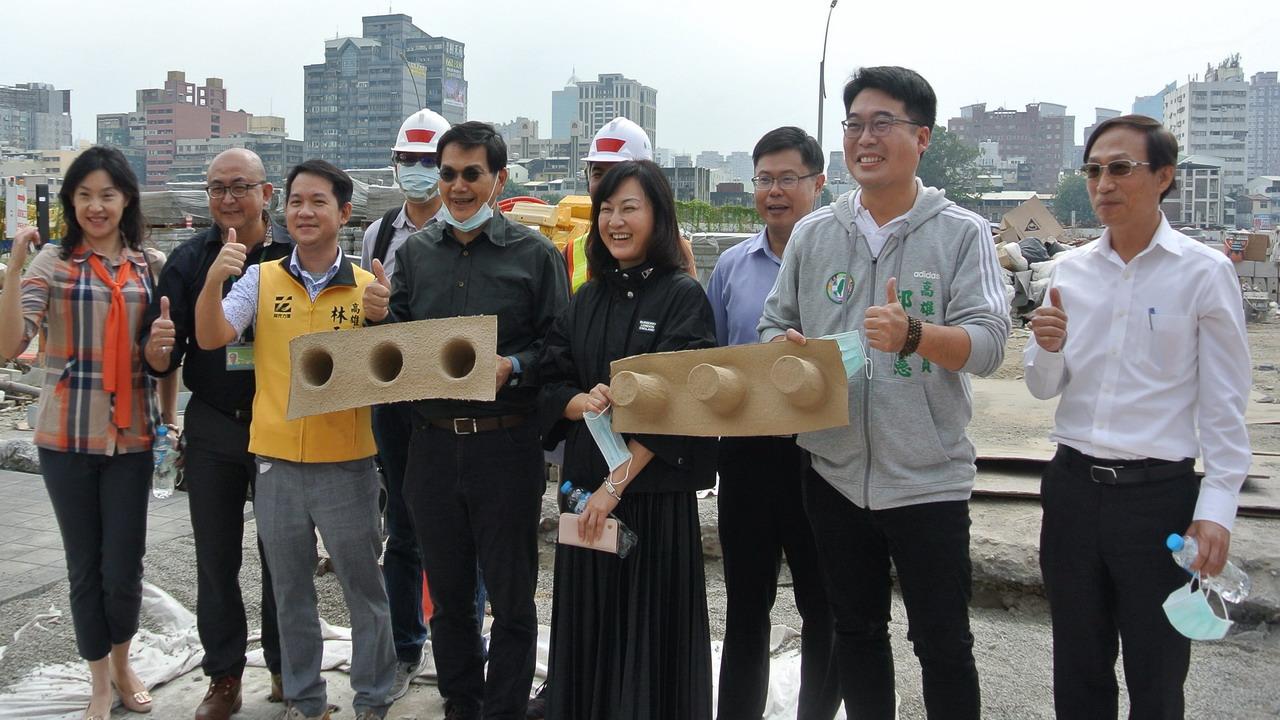 打造人行友善環境 高市議會氣候變遷小組進行考察