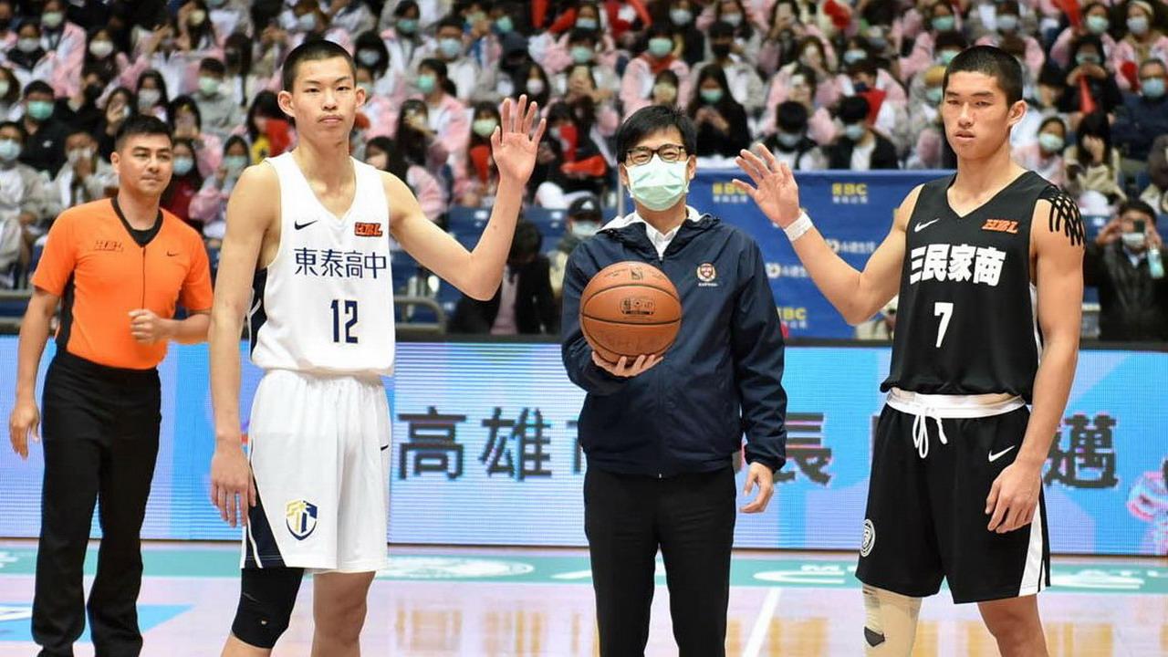 高中籃球聯賽 三民家商 高苑工商HBL爭八強