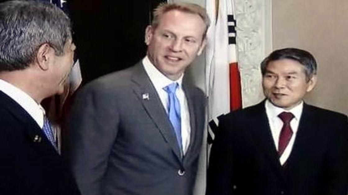 北韓發射近程飛彈 文在寅會晤美國代理防長