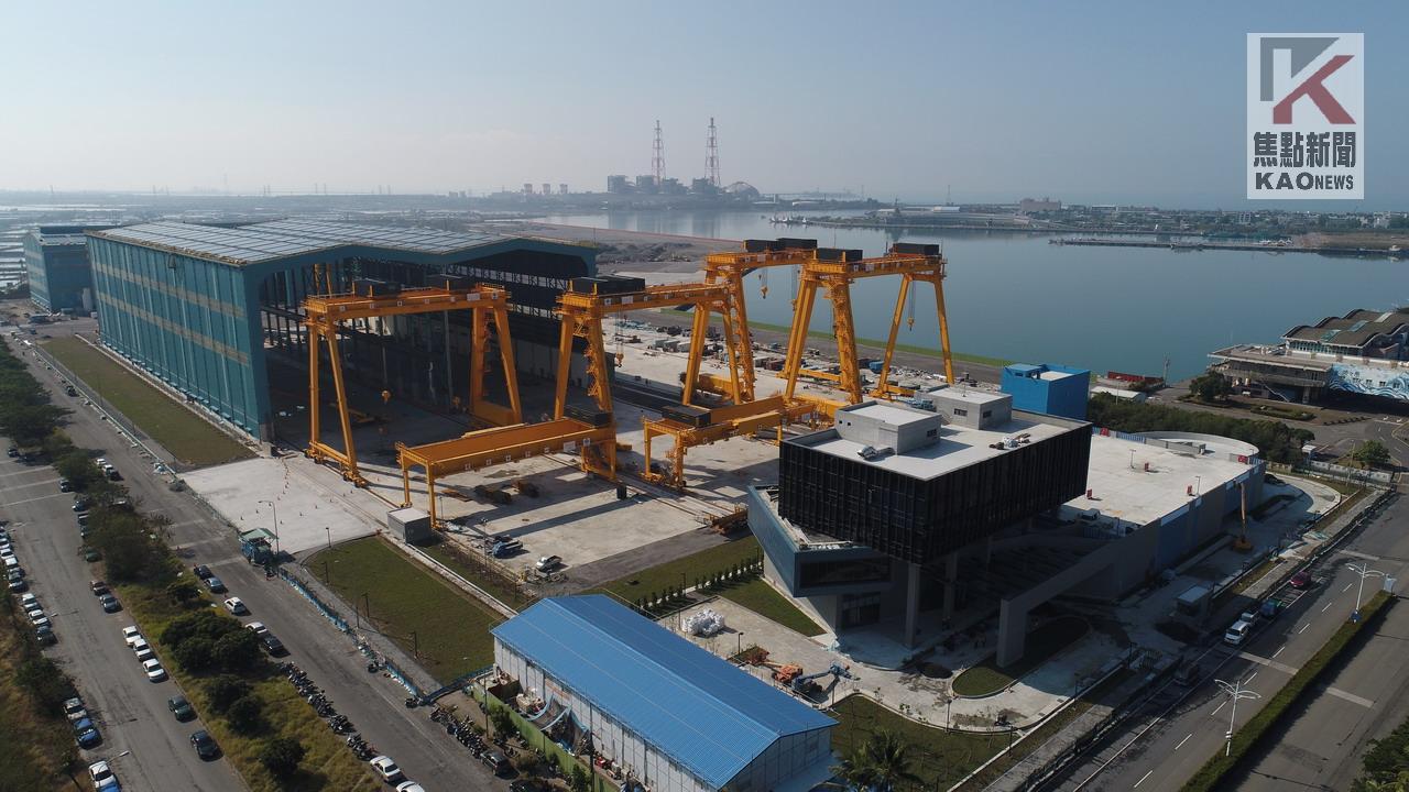 影/乘風起飛  從「興」開始 中鋼興達廠房竣工