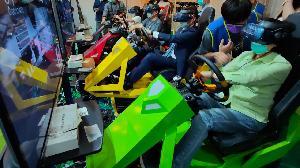全台首創VR體感 迷你賽車遊戲打造超真實體驗