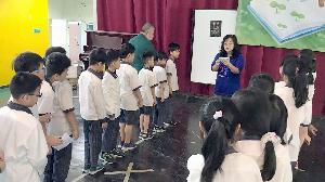 歡度兒童節 校辦知識闖關童習互助精神