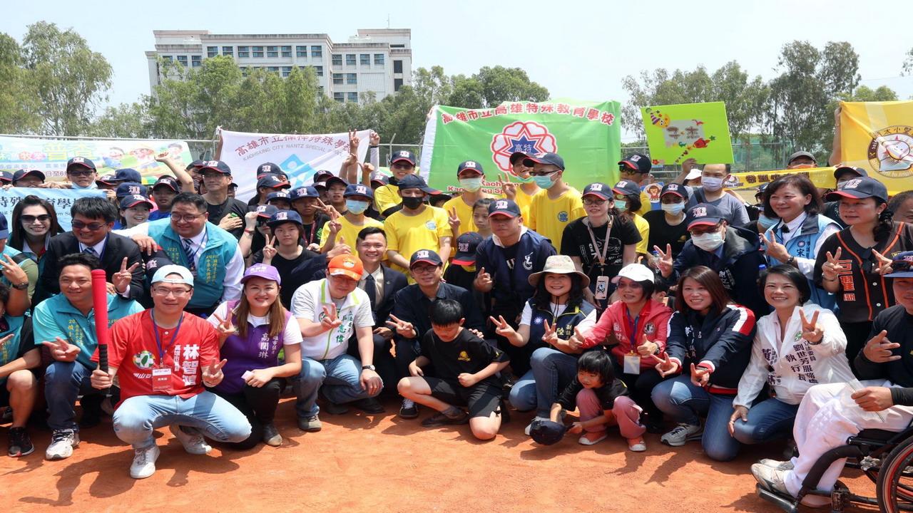 岡山棒球場舉辦第二屆「天使盃」棒球體驗賽