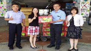 「柚」香「柚」濃  大林煉油廠中秋特殊學校送暖