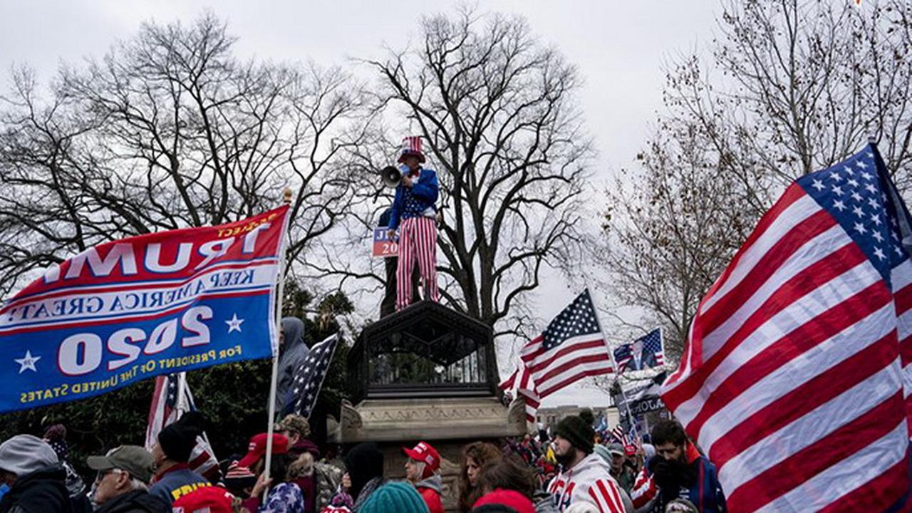 美國會暴動 川普於推特強調將會和平轉移政權