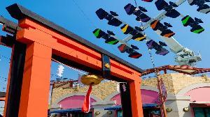 偽出國 鈴鹿賽道親子樂園打造日式祈福鳥居