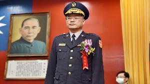 黃明昭 接任高雄市警察局長