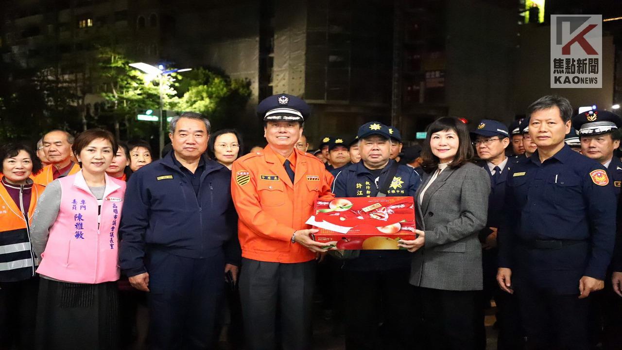 感謝警員志工 高市議會辦春安慰勞