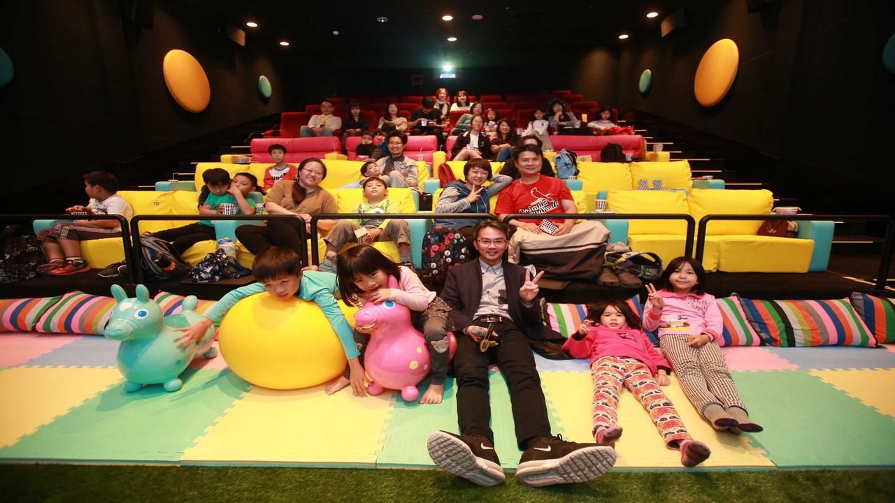 全台最大親子影廳就在in89駁二電影院
